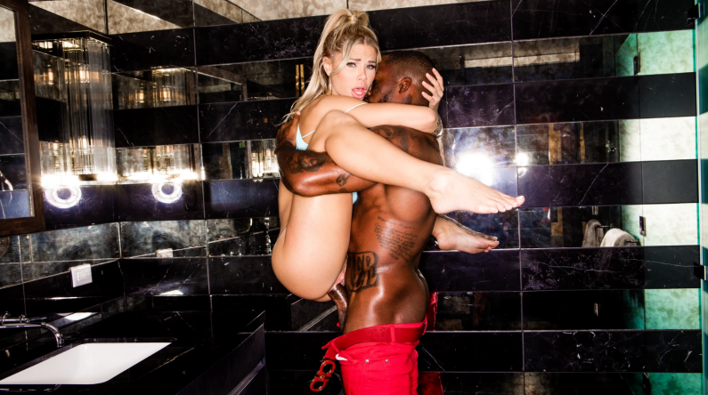 BlackedRaw Jessa Rhodes Catch A Ride